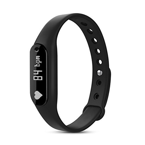 TechComm GX1 Fitness Tracker with Heart Rate Monitor and Remote Camera by TechComm