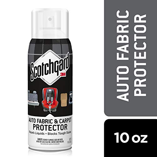 Scotchgard Auto Fabric & Carpet Protector, 10 Oz.
