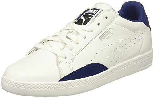 PUMA Womens Match Lo Classic Wn Puma White-blue Depths