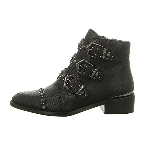 Alma en Pena408 - botines de caño bajo Mujer Negro
