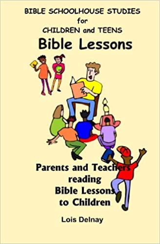 Parents helping teen learn bible