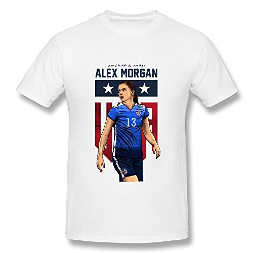 LLangla Men's Alex Morgan Ft Ismail Budak Design T Shirt L