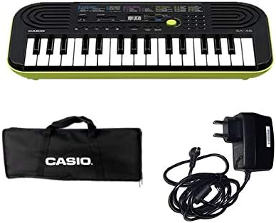 tastierina Casio sa46 + Bolsa Casio + Cargador Casio