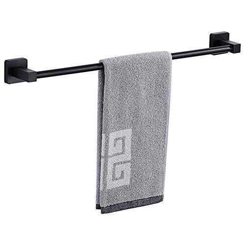 - Single Towel Bar, Stainless Steel 16 Inch Towel Rack Black for Bathroom (Matte Black, 16 Inch (40 cm))