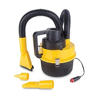 12V Wet Dry Vacuum Cleaner Inflator Portable Turbo Hand Held for Car