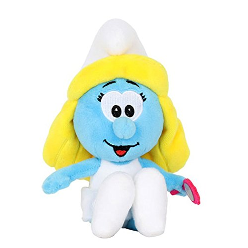Smurfs Smurfette, Stuffed Animals Plush Toy Cute Gift for Kids Backpack Clip - Plush Toys Smurf
