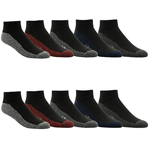 Levi's Athletic Mens Socks - Performance Cushion Athletic Gym Socks 10 PACK Sock