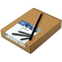 GBC 4012485 - CombBind Standard Spines, 1/2 Diameter, 85 Sheet Capacity, Navy Blue, 100/Box-GBC4012485