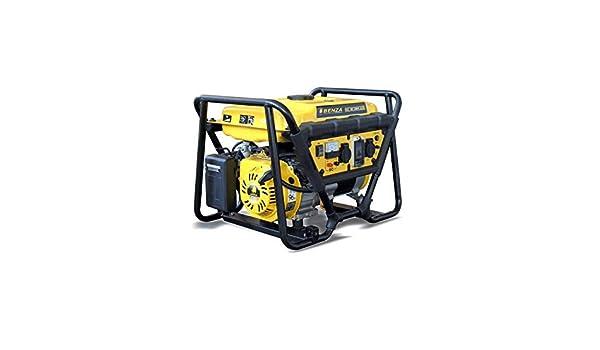 BENZA GENERADOR MONOF. GAS BX3000 3000W 5.7HP BENZA: Amazon ...