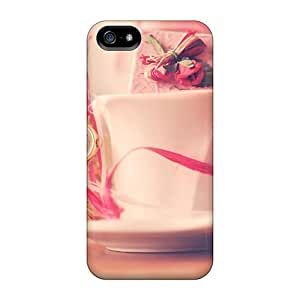 linJUN FENGFashionable Style Case Cover Skin For Iphone 5/5s- Cup Full Of Surprises