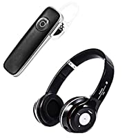 K1 Universal Wireless 4.1 Bluetooth Earpiece, Sweat-proof Headset, Smart Call Answering Earphone, Hands-free Ear hook Headphone With Virtual Reality Headset with Remote Controller for Children ( VR MINI ) -by Exosis