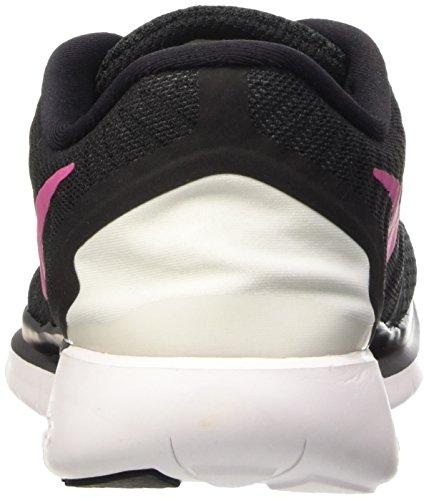Nike Women's Free 5.0 Running Shoes Black (Black/Living Pink/White 061) p5sxJTAc2