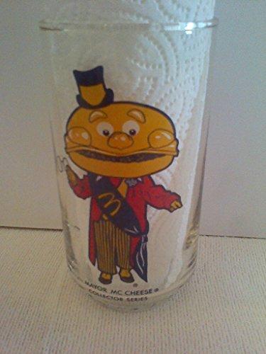 Mayor McCheese Collectible McDonalds Glass, 2005 Collector Series, Mayor McCheese