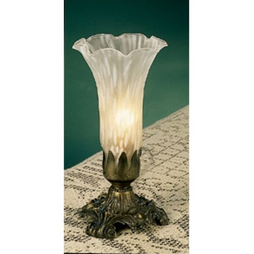 White Pond Lily Accent Lamp in Bronze
