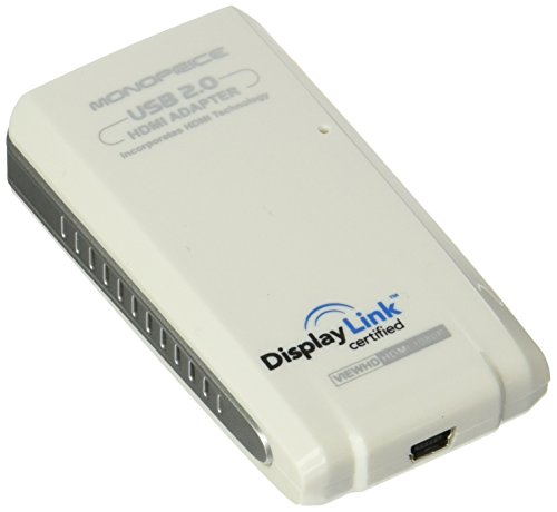 Monoprice 108079 Display Adapter Audio