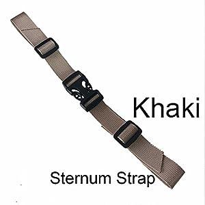 BRONZEMAN Sternum Strap Backpack Chest Harness Nylon Adjustable Universal 6