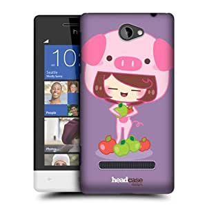 Head Case Designs Pipp Animal Costumes Protective Snap-on Hard Back Case Cover for HTC Windows Phone 8S