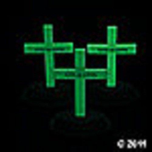 (Glow-In-The-Dark Crosses)
