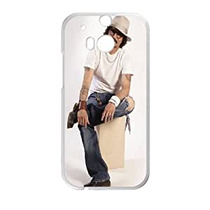 Johnny Depp HTC One M8 Cell Phone Case White gift W9590560