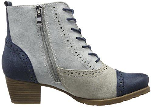 Marco Tozzi 25123, Zapatillas de Estar por Casa para Mujer Azul (Sky Comb 857)