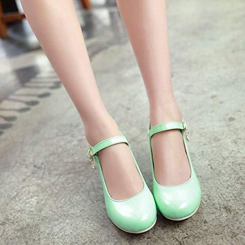 Melady Basic Basso Donne Shoes 2 verde Pumps Tacco trrw5dq