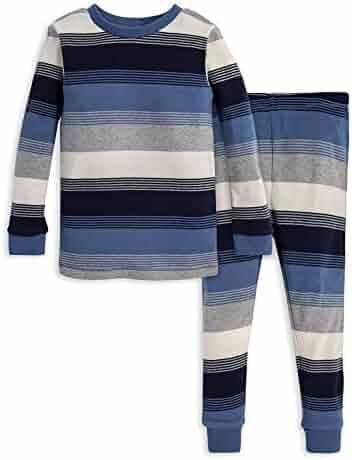 Burt's Bees Baby Unisex Pajamas, Tee and Pant 2-Piece PJ Set, 100% Organic Cotton