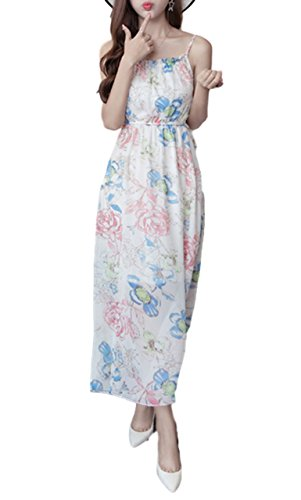 [シービリーヴ] 花柄 ワンピース オフショルダー 着痩せ リゾート 夏 薄手 シンプル 爽やか 着心地 ドレス レディース