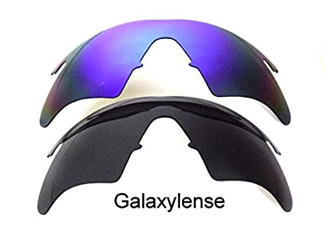 90c079fcc8 Galaxy Replacement Lenses For Oakley M Frame Heater Black Blue 2 Pairs -  clear