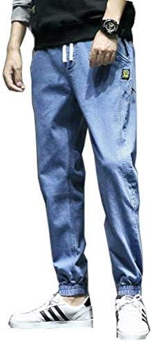 [inotenka]ジーンズ メンズ スキニーパンツ ジョガーパンツ デニム コットン ウエストゴム カジュル 大きいサイズ M-7XL