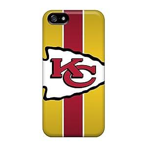 Hot Design Premium YQs5898WVwt Tpu Case Cover Iphone 5/5s Protection Case(kansas City Chiefs)