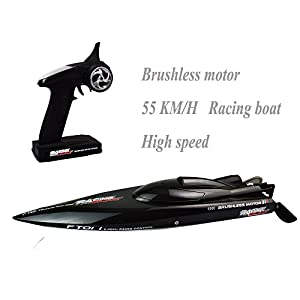 Feilun FT011 011 Remote Control Boat Biggest Racing High Speed 55KM/H Brushless Motor Excellent Functions for Hobbies Player Adult