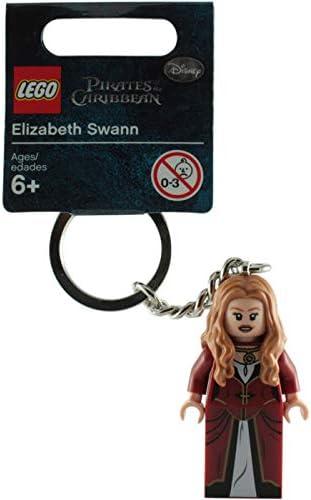 LEGO Pirates of the Caribbean Elizabeth Swann Key Chain 853188