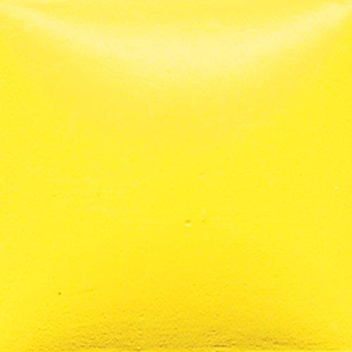 Duncan Bisq-Stain Opaque Acrylics - OS 434 - Lemon Peel - 2 Ounce - Bisque Bisq