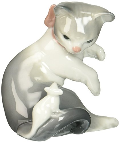 Lladr Cat and Mouse Figurine