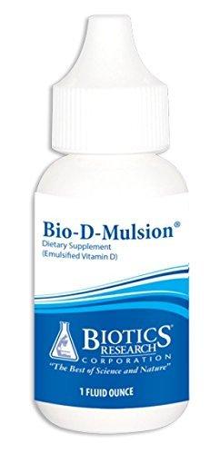 Biotics Research - Bio-D-Mulsion 1oz