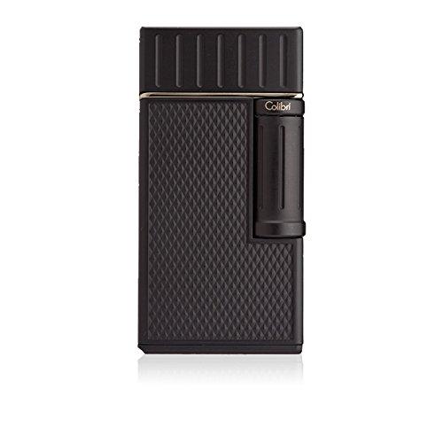 Colibri Julius Flint Double Flame Lighter - Black by Colibri