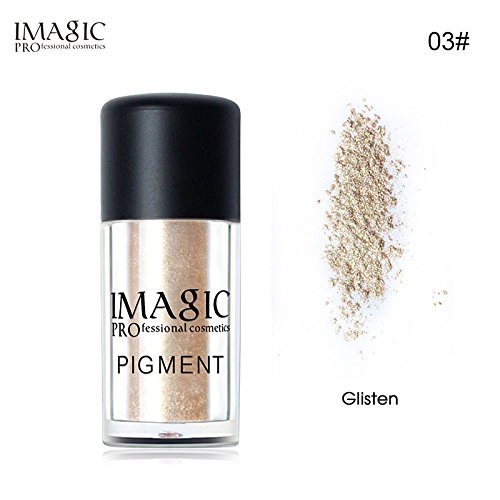 mmer Powder Eyeshadow Color Cosmetics Palette Waterproof Pigment Brand Loose Glitter Makeup Eye Shadow #03 (03 Shadow)