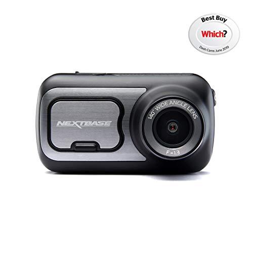 Nextbase 422GW Dash Cam 2.5 HD 1440p Touch Screen Car Dashboard Camera, Amazon Alexa, WiFi, GPS, Emergency SOS, Wireless, Black