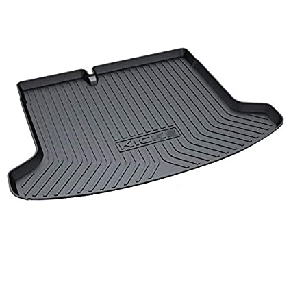 Vesul Rear Trunk Cargo Cover Boot Liner Tray Carpet Floor Mat Compatible with Nissan Kicks 2018 2019