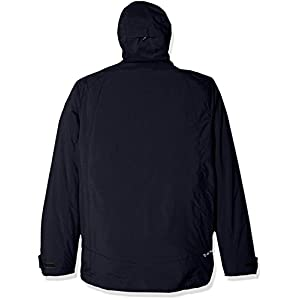 Champion Men's Technical Ripstop With Puffy 3-In-1 Winter Jacket, Navy, XX-Large