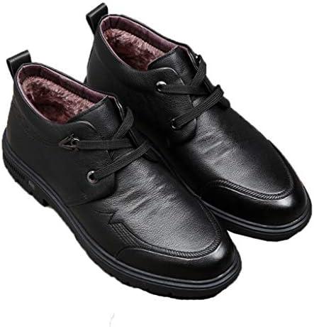 ウォーキングシューズ ハイカット ビジネスシューズ 靴 メンズ 紳士靴 レースアップ スリッポン 冬用 通勤 裏起毛 登山靴 アウトドアシューズ ショートブーツ ムートンブーツ 父の日 誕生日 誕生日ギフト