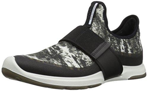 amazon cheap online outlet fast delivery ECCO Women's Biom AMRAP Strap Fashion Sneaker Black/Black White outlet locations cheap online buy cheap excellent hW3ivvXdWq