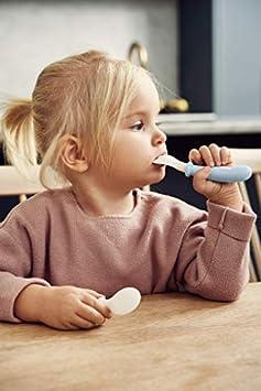 Blassblau 4 Teile BABYBJ/ÖRN Kinderl/öffel und Gabel