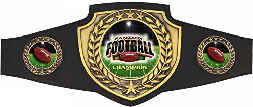 Fantasy Football Champion Award Belt Shield Series by TrophyPartner by TrophyPartner