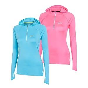 asics zip hoodie womens sale