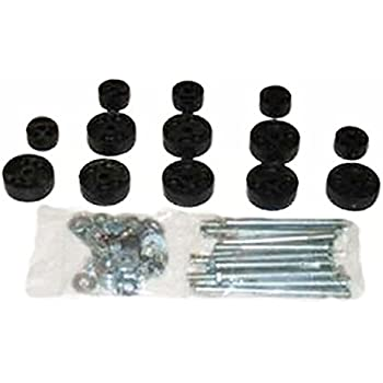 """Performance Accessories, Jeep CJ-5/CJ-7 Scrambler 4WD Only 1"""" Body Lift Kit, fits 1972 to 1986, PA911, Made in America"""