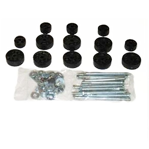 Performance Accessories, Jeep CJ-5/CJ-7 Scrambler 4WD Only 1″ Body Lift Kit, fits 1972 to 1986, PA911, Made in America