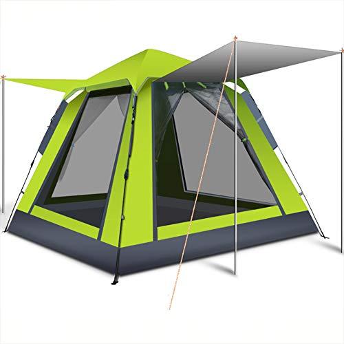 そうでなければピカリング引き付けるテント2秒スピードオープン単層4-6人のために適した屋外キャンプ用ビーチスポーツ(220 * 220 * 165センチメートル)に適した大容量軽量防水UV保護,B