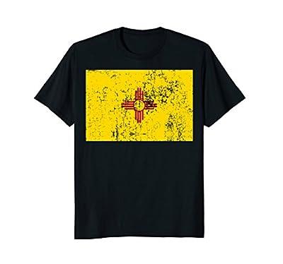 New Mexico Flag Shirt Vintage Zia Sun Shirt Fun Cute NM Tee