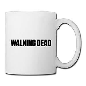 Christina Walking Dead Logo Ceramic Coffee Mug Tea Cup White